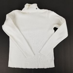 Ralph Lauren (RLL) vintage winter white turtleneck